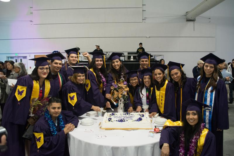 SF State Graduates at the 2016 Beyond Borders Graduation